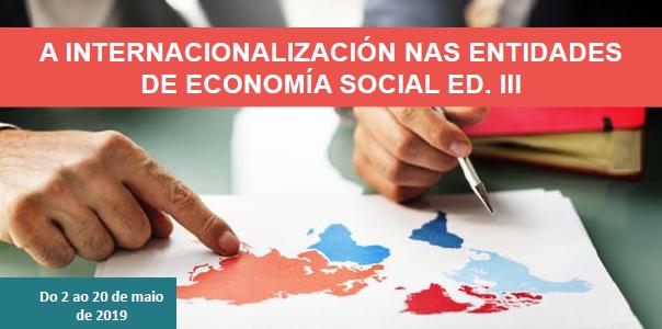 A internacionalización nas entidades de economía social Ed. III