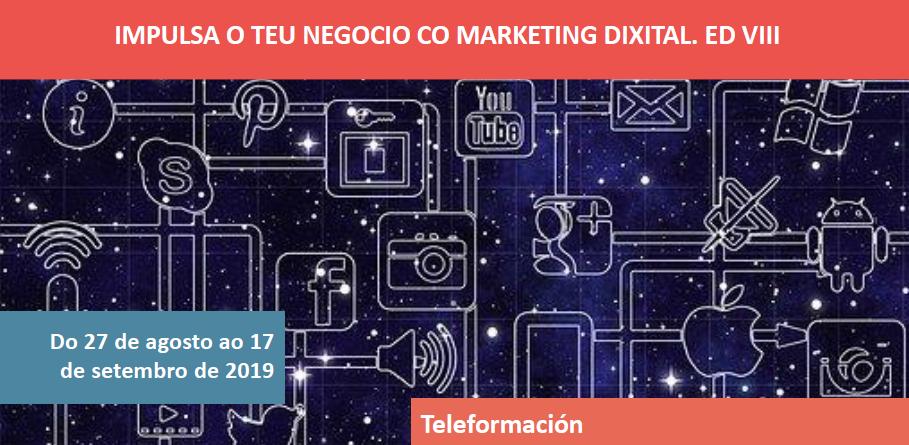 Impulsa o teu negocio co marketing dixital Ed. VIII