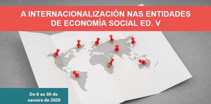 A internacionalización das entidades de economía social. Ed. V