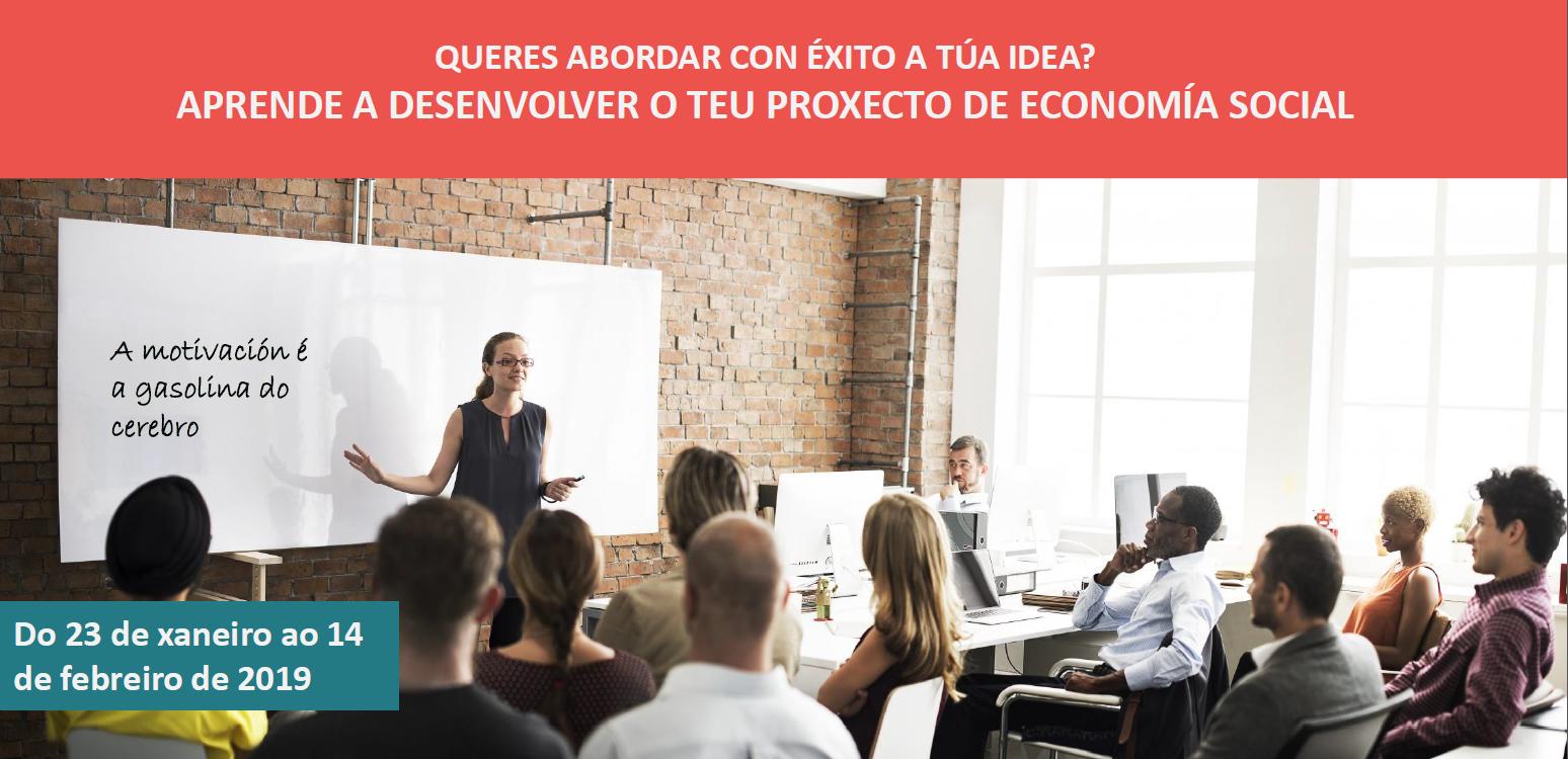 Aprende a desenvolver o teu proxecto de economía social Ed. VII